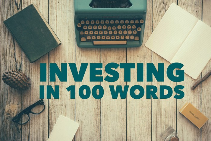 Here's a quick, easy and yet still complete synopsis on how to start investing.