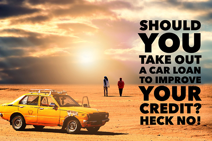 Does applying for a car loan lower your credit score