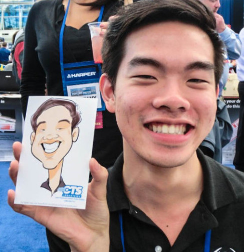 Earning Six Figures as a Caricature Artist