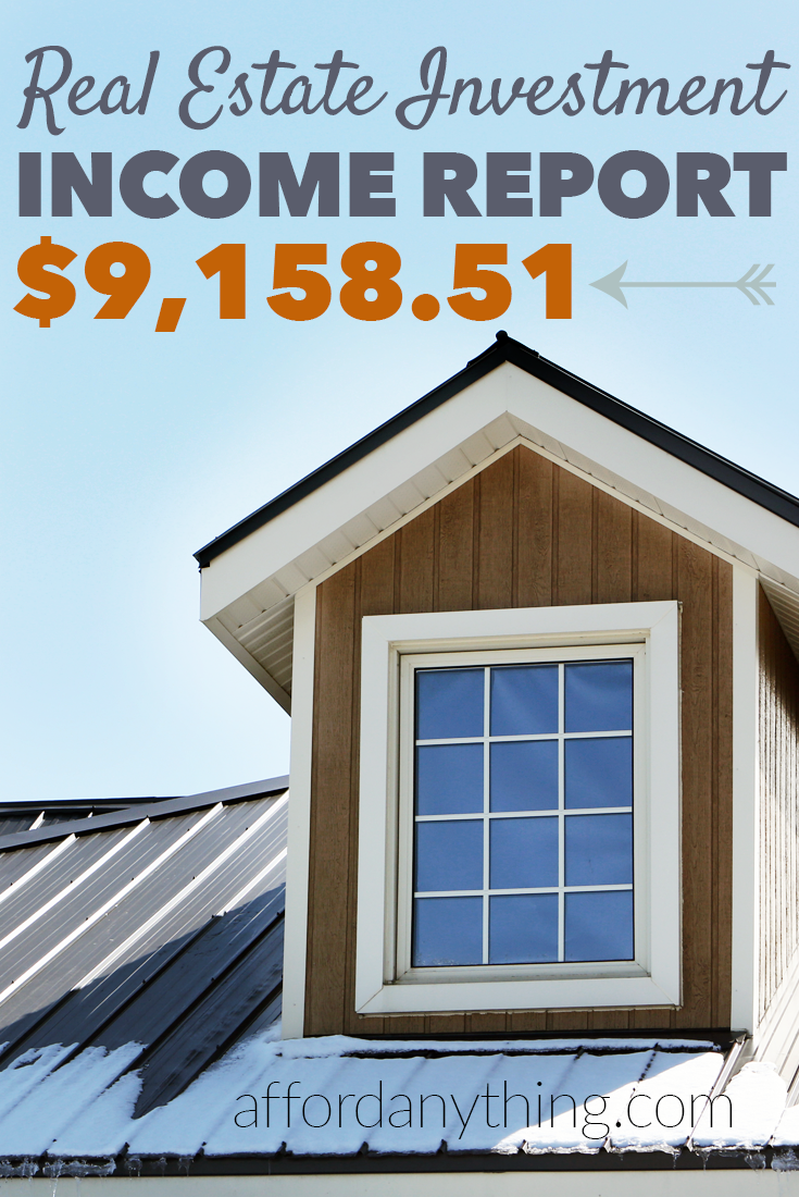 Want to find out exactly how much I earned from real estate investments? Check out this real estate income report, where I show my exact cash flow.
