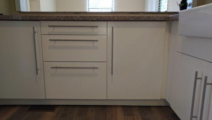 Rental renovation - base cabinet