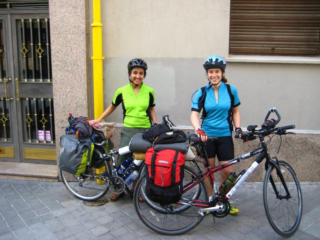 Paula and Kim's Bicycle trip in Spain