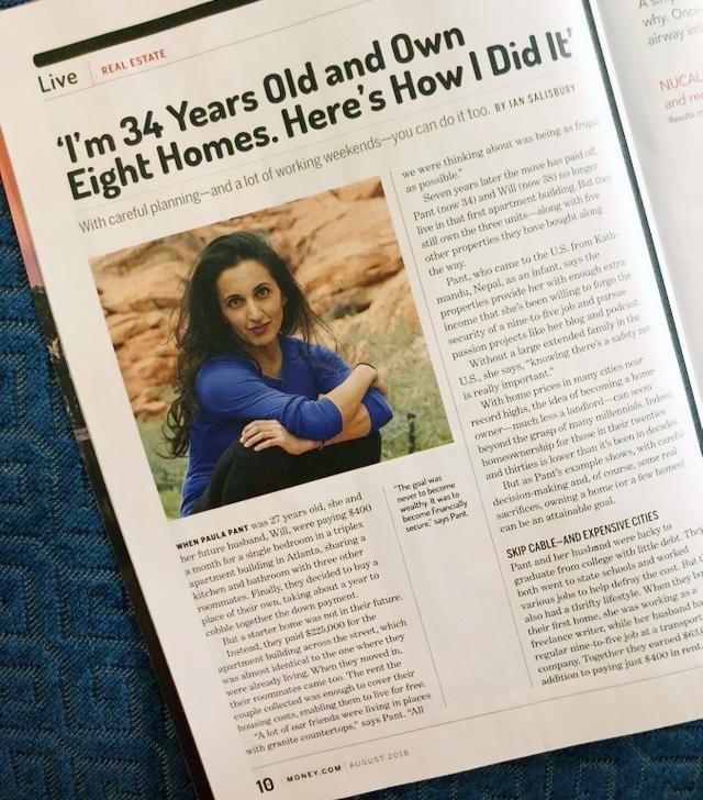 Paula Pant in Money Magazine