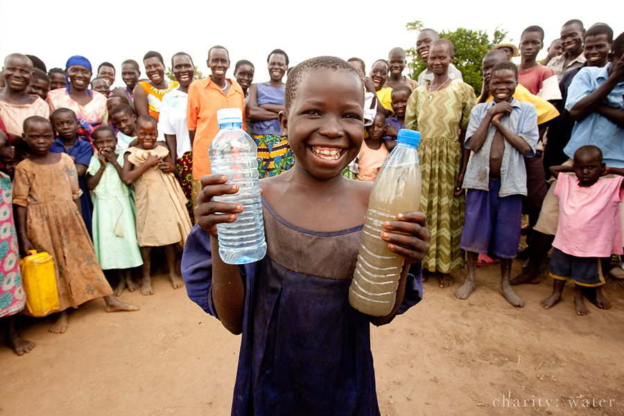 charity:water photo - clean water