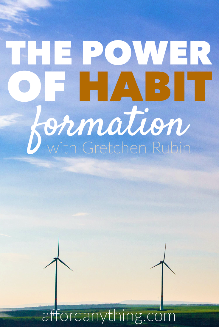 Gretchen Rubin, author of Better Than Before and The Happiness Project, discusses the power of habit formation and how to get over making excuses.